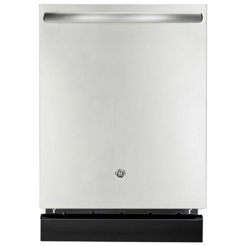 "GE 24"" Tall Tub Built-In Dishwasher with Stainless Steel Tub (GDT696SSFSS) - Stainless Steel"