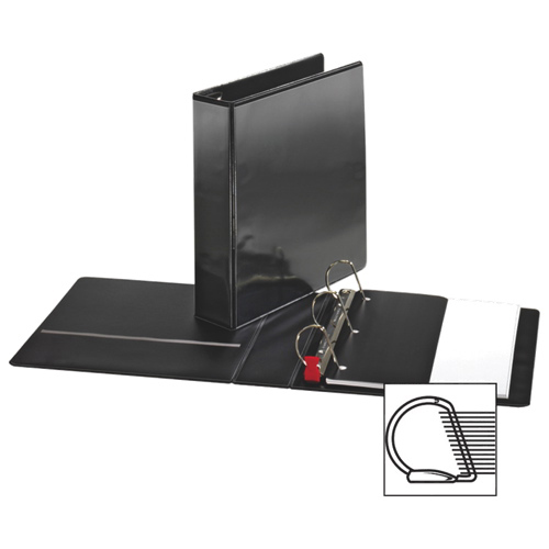 "Sparco 2"" Locking D-Ring Binder (SPR26960) - Black"