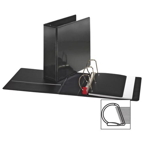 """Sparco 4"""" Locking D-Ring Binder (SPR26964) - Black"""