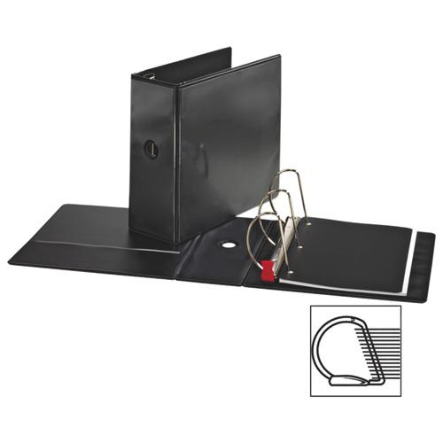 """Sparco 5"""" Locking D-Ring Binder (SPR26966) - Black"""