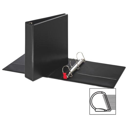 "Sparco 2"" Slant-D Locking Ring Binder with Sheet Lifter (SPR26969) - Black"