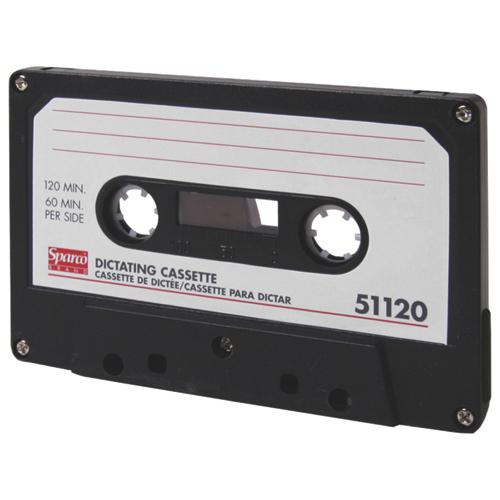 Cassette de dictée de Sparco (SPR51120) - 120 minutes