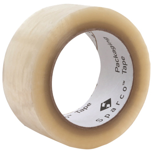 Ruban d'emballage robuste de Sparco (SPR01613) - Transparent