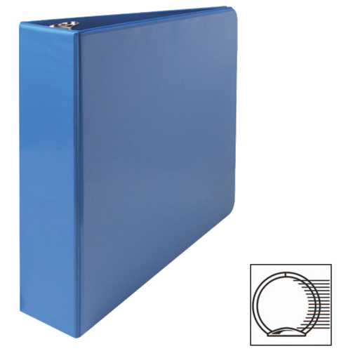 "Sparco 2"" Round Ring View Binder (SPR01642) - Blue"
