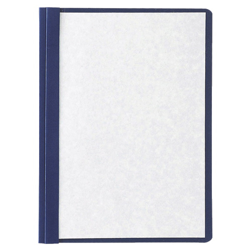 "Oxford 8.5"" x 11"" Clear Front Report Cover (ESS50443) - 5 Pack - Navy Blue"