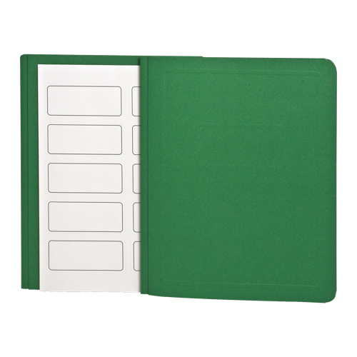 """Esselte 8.5"""" x 11"""" Embossed Report Cover (ESS52503) - 25 Pack - Light Green"""