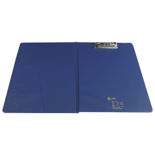 ACCO Letter Clipboard with Clamp Portfolio Business (ACC13013) - Blue