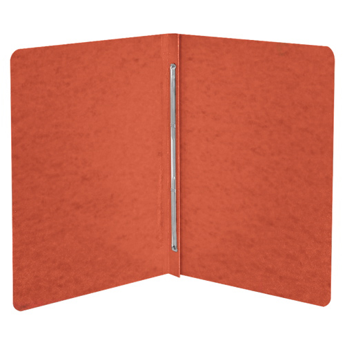 """ACCO Presstex 8.5"""" x 11"""" Side Binding Report Cover (ACC25079) - Executive Red"""