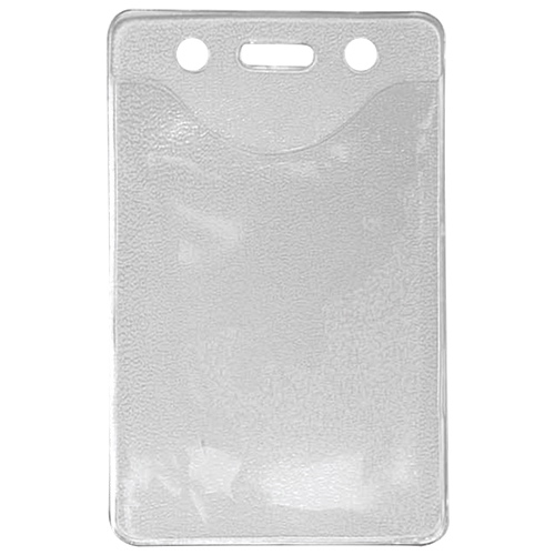 C-Line Heavy Duty Vertical Badge Holders (CLI88607) - 100 Pack - Clear