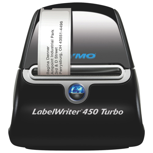 Dymo Sanford LabelWriter 450 Turbo Thermal Transfer Printer (DYM1756693) - Black