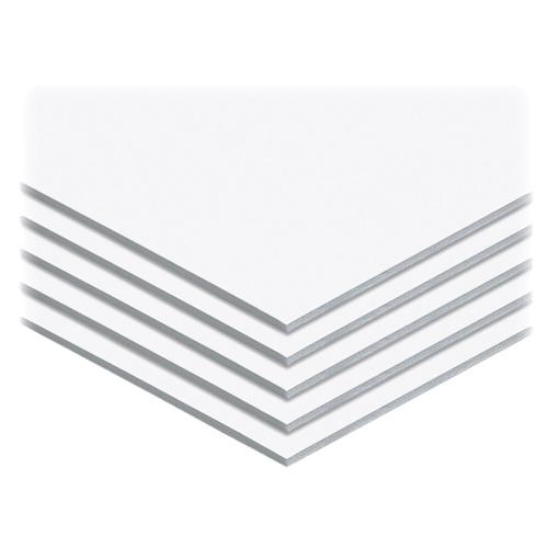 Babillard en mousse de 762 mm x 508 mm d'Elmer (EPI950-109) - Blanc