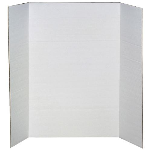 Panneau de présentation pour projet scolaire de 36 po x 48 po d'Elmer (EPI730-190) - Blanc