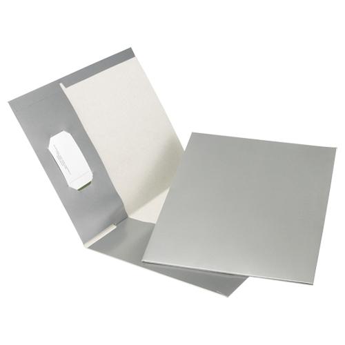 Esselte Pocket Folders (ESSPPF-DBG/B) - 25 Pack - Grey