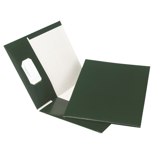 Esselte Pocket Folders (ESSPPF-DBP/B) - 25 Pack - Green