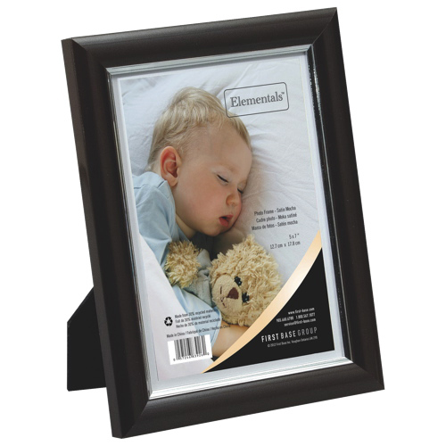 First Base Photo Frame (FST83926) - Brown