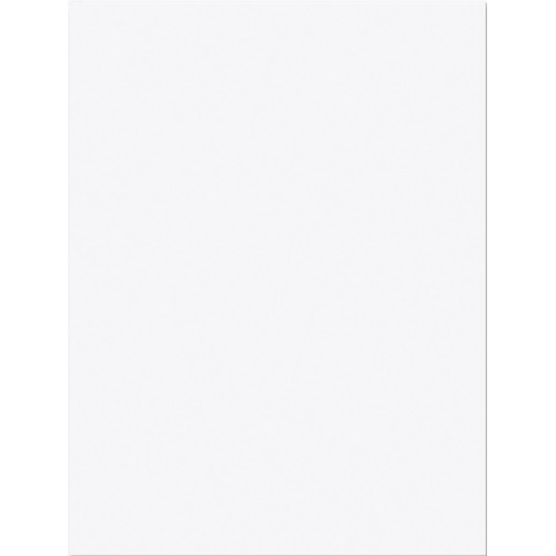 "Nature Saver 9"" x 12"" Recycled Construction Paper (NAT22329) - 50 Pack - White"