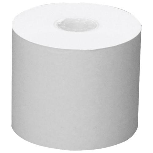 Rouleau de papier à reçus 3 po de NCR (NCR879066) - Paquet de 50 - Blanc