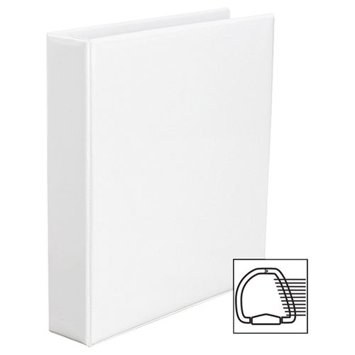 "Avery Heavy-Duty 1-1/2"" One-Touch D-Ring View Binder (AVE79-795) - White"