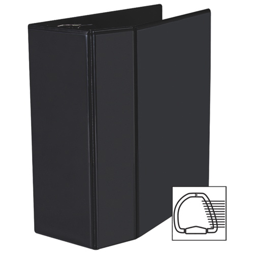 """Avery 5"""" Heavy-Duty One Touch D-Ring View Binder (AVE79-606) - Black"""