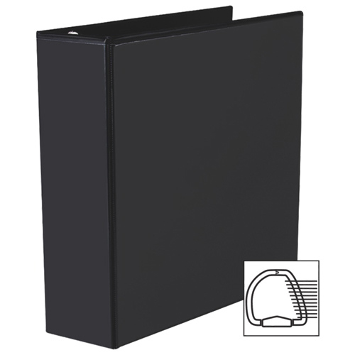 """Avery 3"""" Heavy-Duty One Touch D-Ring View Binder (AVE79-693) - Black"""