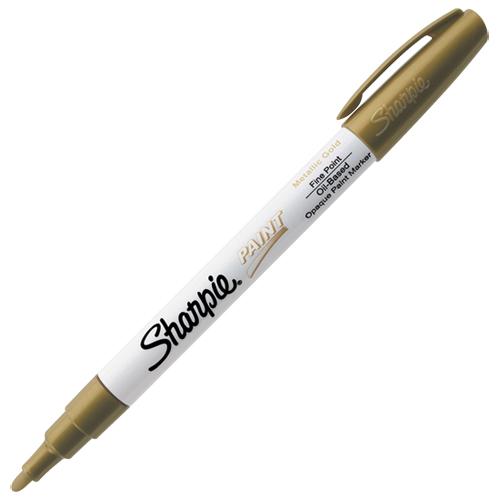 Marqueur de peinture à base d'huile à pointe fine de Sharpie (SAN35544) - Doré