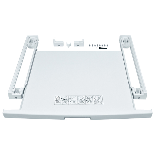 Bosch Stacking Kit with Pull-Out Tray - White