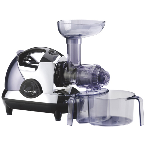 Slow Speed Masticating Auger Juicer : Kuvings Masticating Slow Juicer - White/Black : Juicers - Best Buy Canada