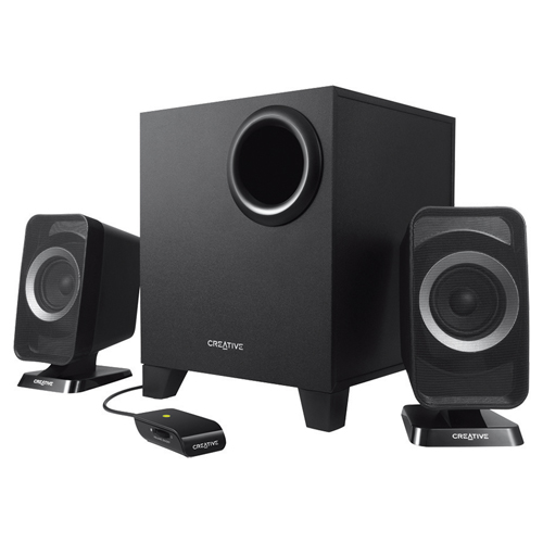 Creative Wireless 2.1 Channel Speakers (MF0425)