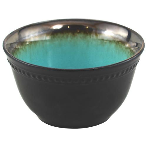 Bol Bali de Tannex - Ensemble de 4 - Bleu - Noir