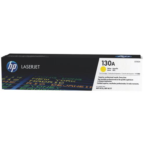 HP LaserJet 130A Yellow Toner (CF352A)