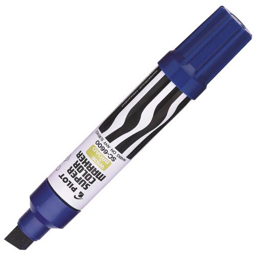 Marqueur permanent rechargeable Jumbo de Pilot (PIL095443) - Bleu