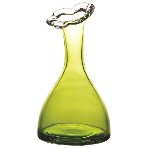 Brilliant Fleuri Glass Vase (8002.061.28) - Green
