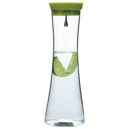 Brilliant 1L Glass Pure Jug - Lime/Silver