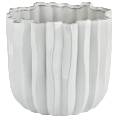 Brilliant Cactus Ceramic Planter (2507.060.27) - White