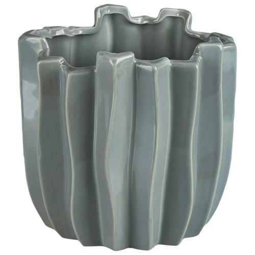 Brilliant Cactus Ceramic Planter (2510.060.16) - Grey