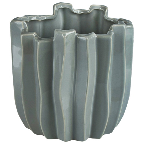 Brilliant Cactus Ceramic Planter (2510.060.21) - Grey