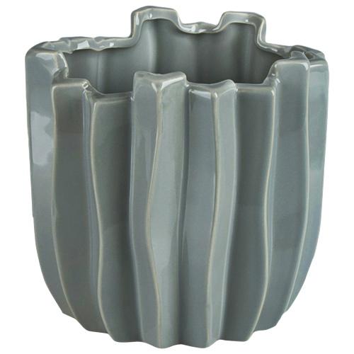 Brilliant Cactus Ceramic Planter (2510.060.27) - Grey