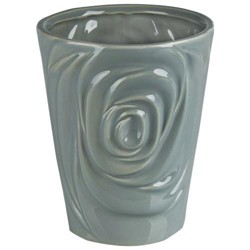 Jardinière en céramique Rose de Brilliant (2508.060.15) - Gris