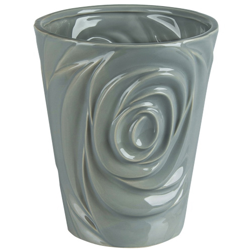 Brilliant Rose Ceramic Planter (2508.060.18) - Grey