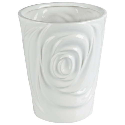 Brilliant Rose Ceramic Planter (2512.060.18) - White