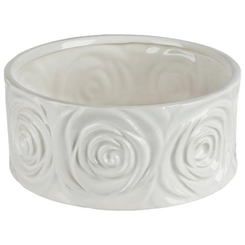 Brilliant Rose Ceramic Planter (2512.060.20) - White