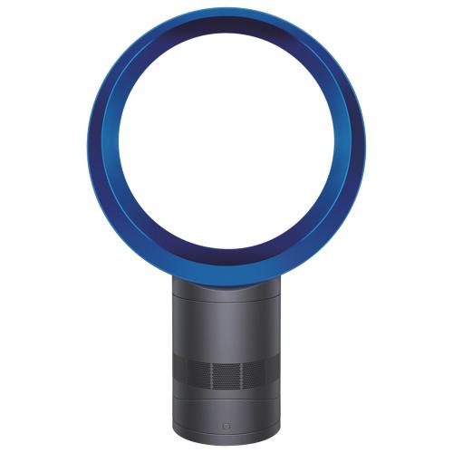 """Dyson 12"""" Desk Fan (AM06-12) Iron/Blue"""