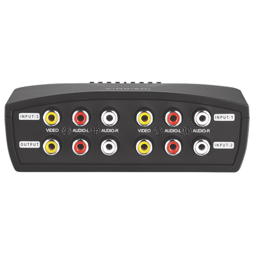 Insignia 3-Port A/V Switch (NS-VS314-C)