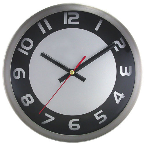 Artistic Products Round 9 Wall Clock (AOP2253SB)