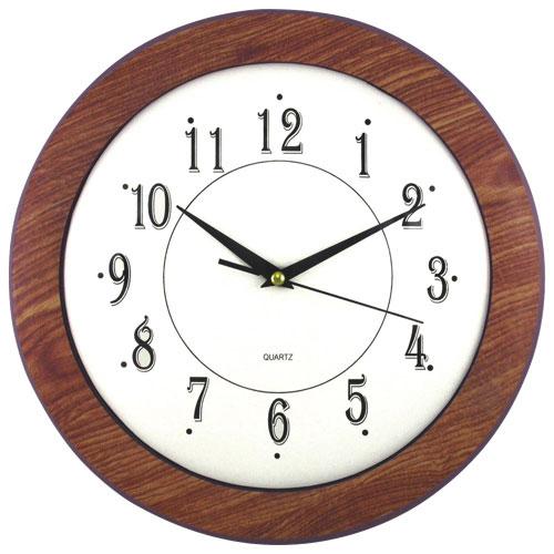 Artistic Products Wood Grain Wall Clock (AOP6415)