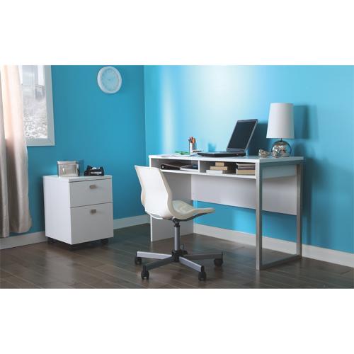 Interface Contemporary Writing Desk - Pure White