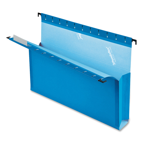 Esselte Hanging Box File Folder (ESS59302) - Legal - 25 Pieces - Blue