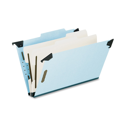 Esselte Recycled Hanging Classification Folder (ESS59352) - Legal - Blue