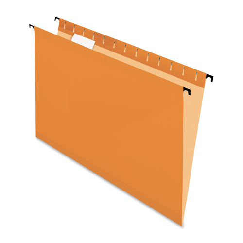 Pendaflex Surehook Hanging File Folder (ESS6153CORA) - Legal - Orange
