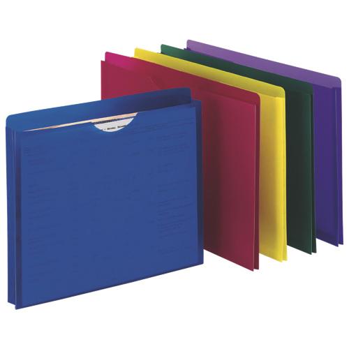 Esselte Expanding File Jacket (ESS50991C) - Letter - Assorted
